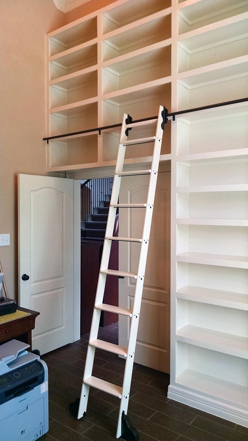 Quiet Glide Rolling 20 Quot W Library Ladder Kit With Ladder