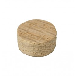 "C-3010 1/2"" Flush Mount Plug Oak"