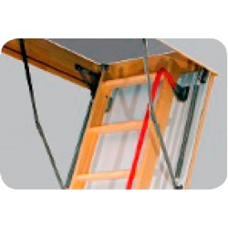 """Fakro LXH 29"""" Long Metal Handrail for Attic Stairs - Fits LWN, LWT, LWP, LMS, and LWF Series"""