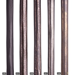 """House of Forgings 9/16"""" Plain Round Forged Bar Solid Balusters"""