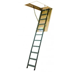 Fakro LMS Series Insulated Steel Attic Ladder