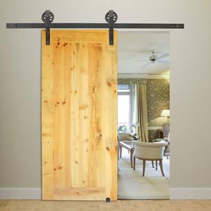 Flat Rail Rolling Doors & Sliding Door Kits | Barn Doors for Sale | The Stairway Shop pezcame.com