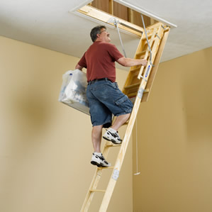Great Folding Attic Stairs