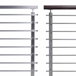 Railings with Horizontal Bars