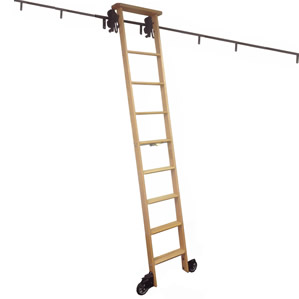 Rolling Library Ladder Kits