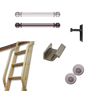 Library Ladder Components