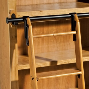 Non-Rolling Library Ladder Kits