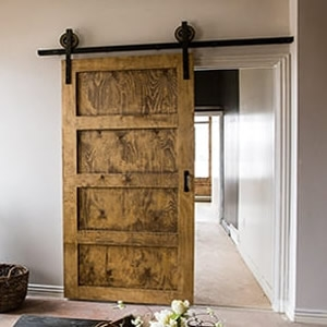 Rolling Doors with Hardware