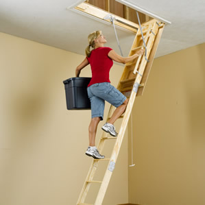 Wood Folding Attic Stairs