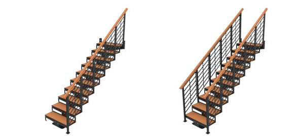 Handrails on One or Both Sides?