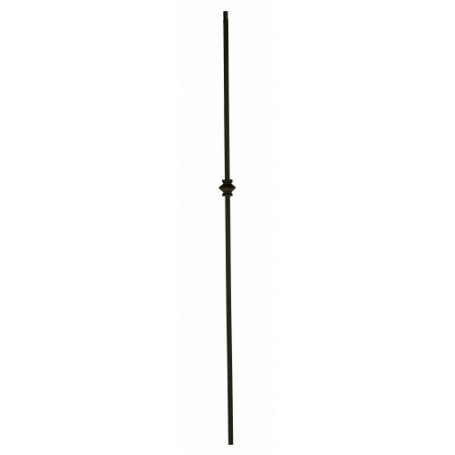 """1KNUC44 Single Knuckle 1/2"""" Sq. Baluster Oil Rubbed Copper - SOLID"""