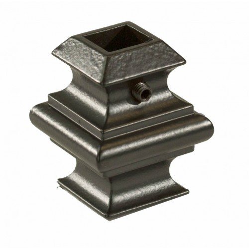 """AK-01 Adjustable Knuckle w/Set Screw 1/2"""" Sq Oil Rubbed Bronze - SOLID"""