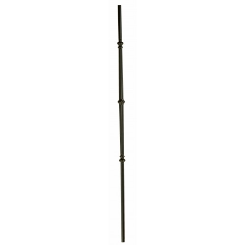 """M65344 Venetian Fluted Bar w/ Knuckle 5/8"""" Dia. Baluster - Oil Rubbed Bronze - LITE"""