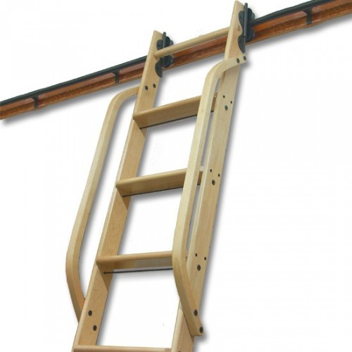 """Wooden Hand Rail, Hickory, Unfinished 1-1/4"""" square stock Steam-bent and predrilled"""