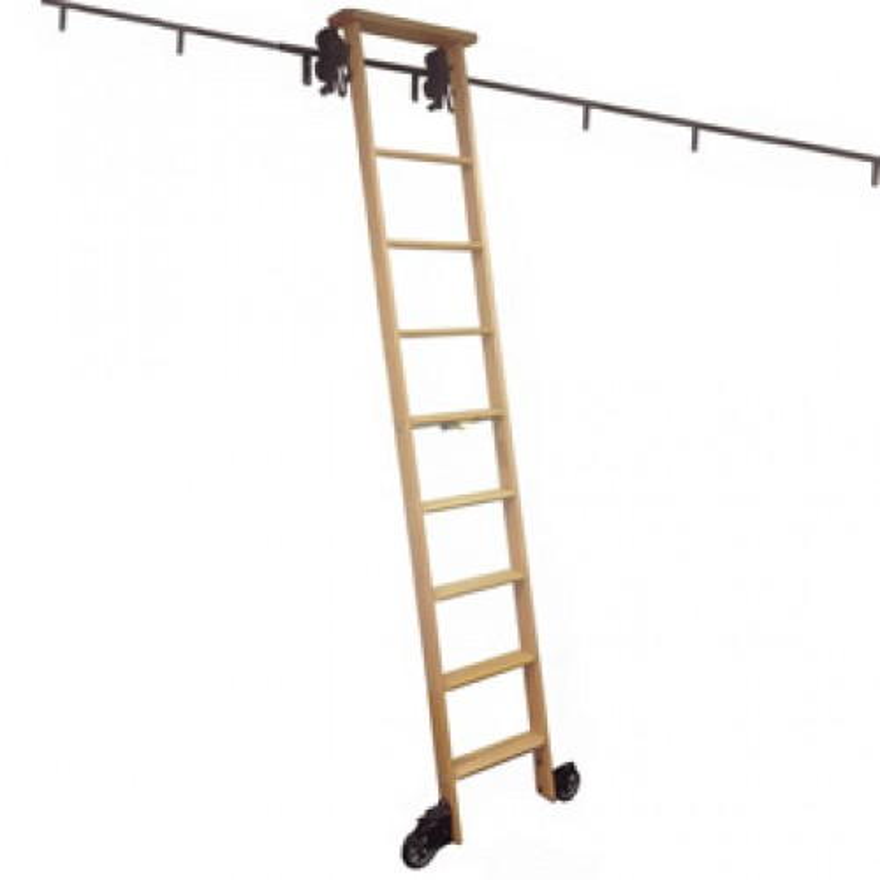 Cotterman Rolling Ladder Cotterman Library Ladder