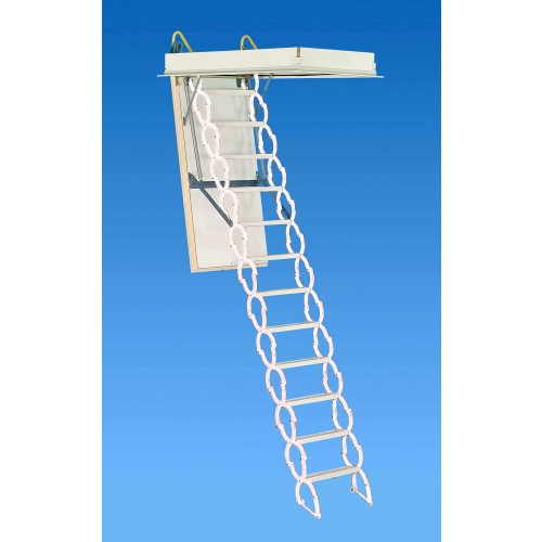 "Rainbow M2236 22""L x 36""W Prestige Attic Ladder / Stair: 7'4""H - 9'10""H"