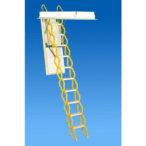 "Rainbow M2254 22""L x 54""W Prestige Attic Ladder / Stair: 7'4""H - 9'10""H"
