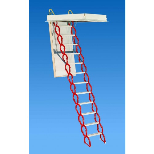 "Rainbow M3060H 30""W x 60""L Prestige Attic Ladder / Stair: 9'10""H - 11'6""H"