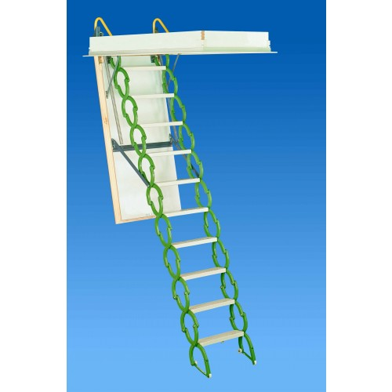 """Rainbow M3060S 30""""W x 60""""L Prestige Attic Ladder / Stair: 7'4""""H - 9'10""""H"""