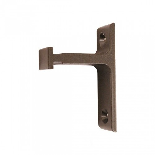 Vertical Bracket for Rolling Library Ladder Top Guides - Oil Rubbed Bronze Finish