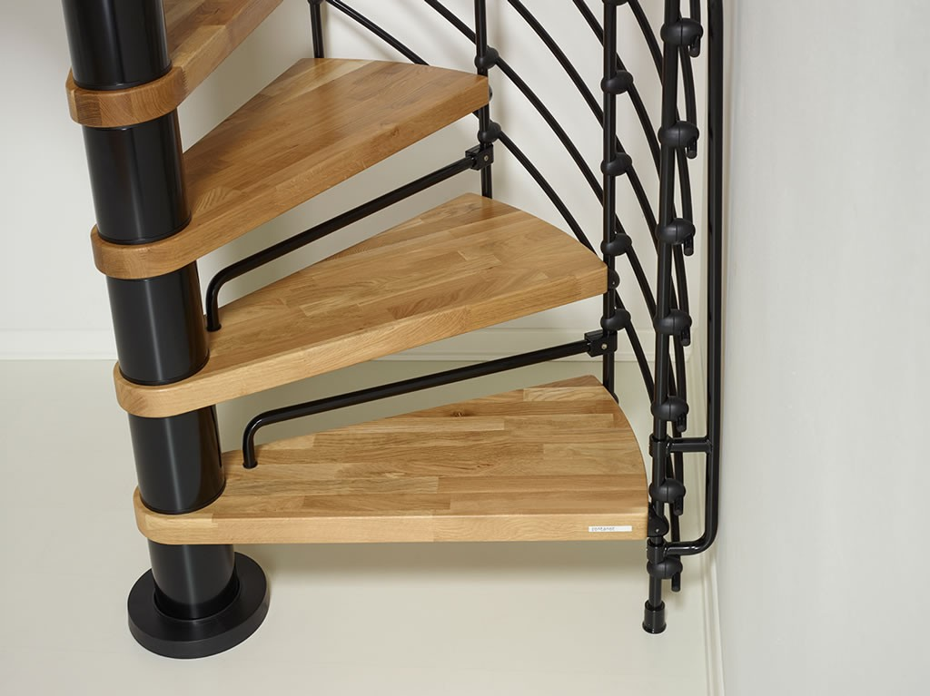 Arke 51 Quot D Oak 70 Xtra Wood Tread Spiral Staircase Kits
