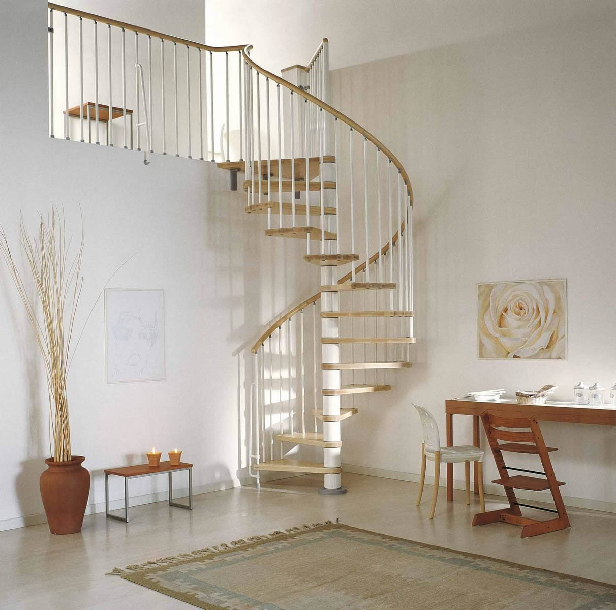 Wood Spiral Staircase Spiral Staircase Kit The