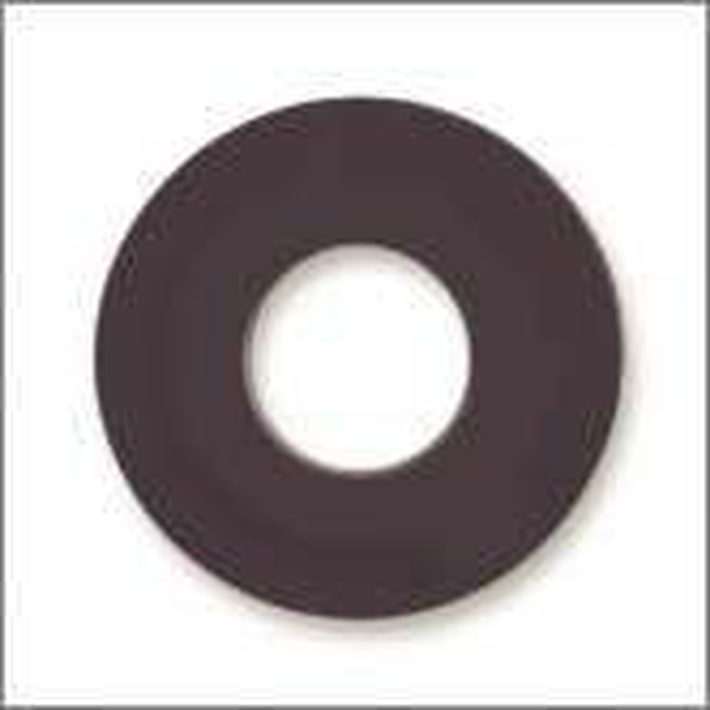 Feeney Black Flat Nylon Washers