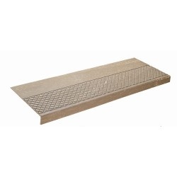 Musson No.622 Square Nose Diamond Pattern Rubber Stair Tread Covers