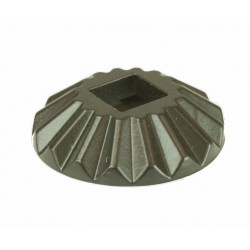 "M-020 Round Scalloped Shoes 1/2"" Sq."
