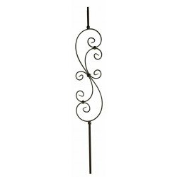"M30144 Large Scroll 1/2"" Sq. Balusters"