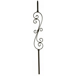 "MEGA-601 MEGA Skinny Scroll 3/4"" Sq. Balusters"