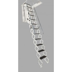 Arke Zooom Plus Electric Scissor Style Attic Stairway