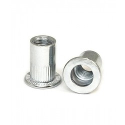 House of Forgings Threaded Pop Rivets for Glass Clamps