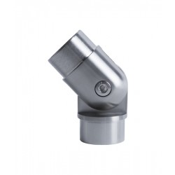 House of Forgings AX10.008.102.A.SP Adjustable Elbow for Round Tube Handrails