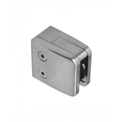House of Forgings Axia Glass Infill Square Mount Clamps
