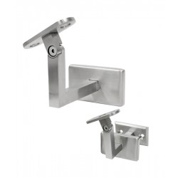 House of Forgings AX20.005.033.A.SP Wall Mounted Handrail Support