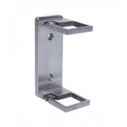 House of Forgings AX20.001.011.A.SP Wall Mount for Square Posts