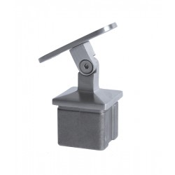 House of Forgings AX20.005.031.A.SP Adjustable Angle Square Post Handrail Support