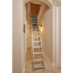 One Touch Electric Attic Stairs - 500 lb Capacity