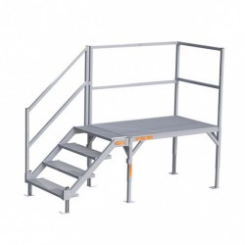 EZ-ACCESS FORTRESS Aluminum OSHA Stair Systems