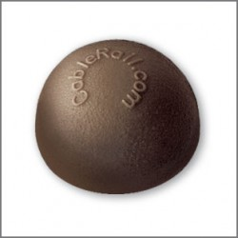 Feeney CableRail Bronze Colored End Cap Package (10/pkg)
