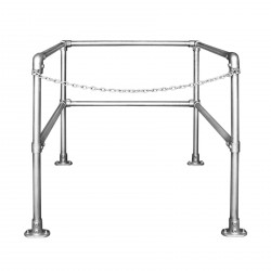 Kee Safety Hatch Floor Mount Railing Systems