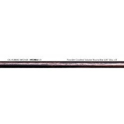 "House of Forgings 5.1.1 - 5/8"" x 8' Powder Coated Tubular Round Bar - Oil Rubbed Bronze"