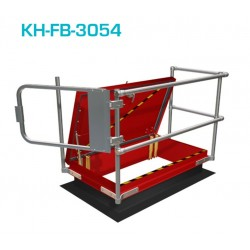Kee Safety Aluminum Safety Hatch Lite Railing Systems