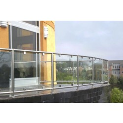 SunRail Glass Railing System