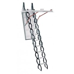 "Rainbow PT3060-12 ProTech Fire Rated Attic Ladder / Stair 10'4""H - 12'H"