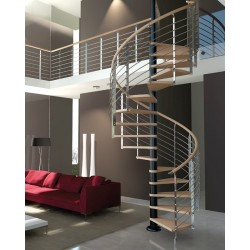 Rintal Trio Metal Custom Spiral Stairway