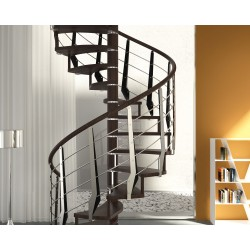 Rintal Trio Wood Custom Spiral Stairway